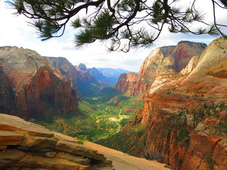 Trail to Angels landing, Zion National Park, USA