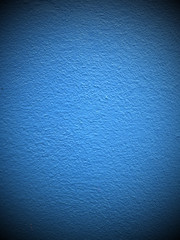 concrete of a blue wall background