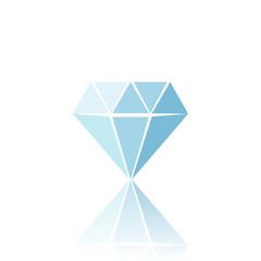 Blue diamond symbol.