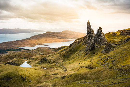 Old Man of Storr, Isle of Skye ,Scotland