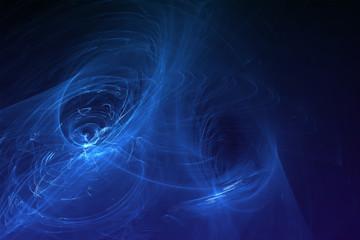 set 7 blue glow energy wave.