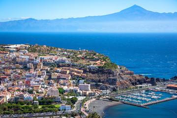 La Gomera, San Sebsatian, Teide