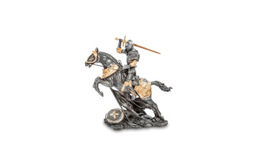 Knight on horse, figurine