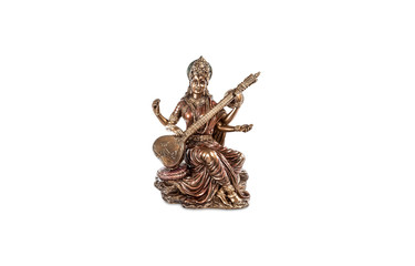 Saraswati - the Hindu goddess of wisdom, knowledge, art, beauty, and eloquence