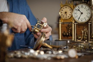A Clock Maker And Repairman; St. Catharines, Ontario, Canada