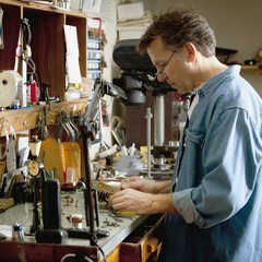 A Clock Maker And Repairman; St. Catharines, Ontario, Canada