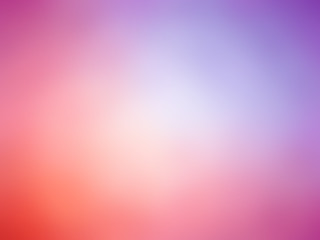 Abstract red pink purple colored blurred background