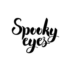 Spooky Eyes Card