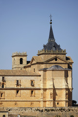 Monastery Of Ucles; Cuenca, Castile La Mancha, Spain