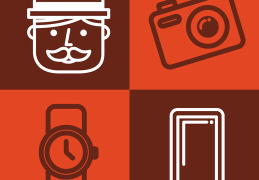4 Tech Trend Icons