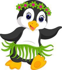 penguin cartoon dancing