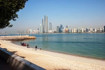 Foto op Canvas Abu Dhabi Beach Abu Dhabi