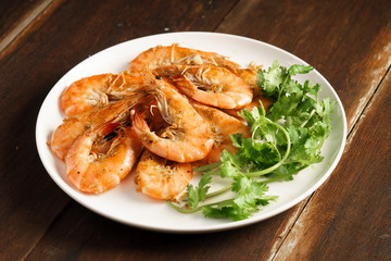 Grilled Lemongrass Shrimps