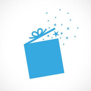 carte cadeau bleu