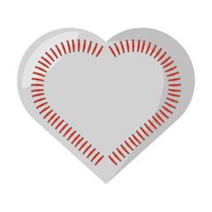 baseball ball equipment isolated icon vector illustration design