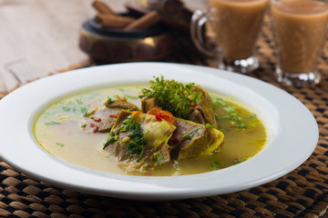 arab lamb soup