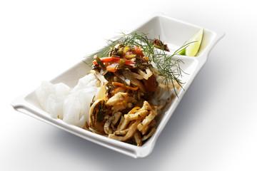 Asian noodle salad ashlanphu
