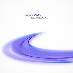 Abstract background blue wave