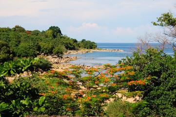 Beach at Lake Malawi, Nkhata Bay