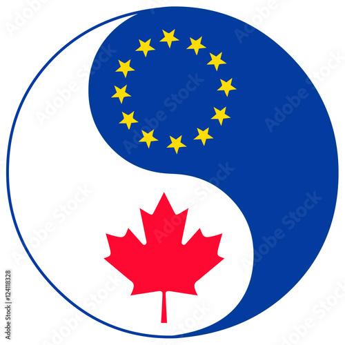 Ceta Trade Agreement Symbol Concept Sign For The Comprehensive