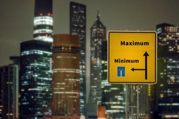 Schild 125 - Maximum