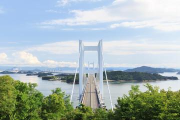 瀬戸大橋 -世界最大級の橋梁-