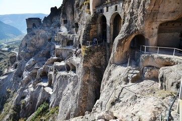 The caves of Vardzia