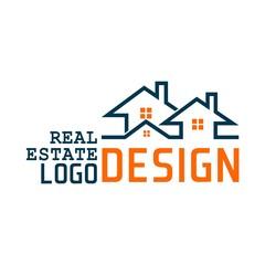 real estate vector logo