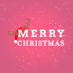Christmas Greeting Card and Vector Background