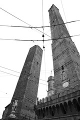 Wall Mural - Towers in Bologna