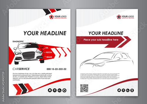 A5 a4 set service car business card templates auto repair leaflet a5 a4 set service car business card templates auto repair leaflet brochure flyer templates reheart Choice Image