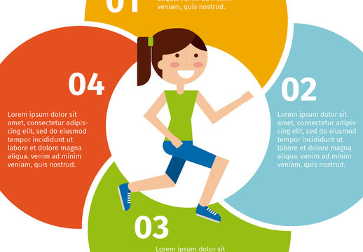 Health, Fitness, and Sports  Infographic