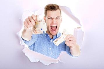 Lotterie Gewinner viel Geld