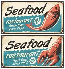 Wall Mural - Seafood