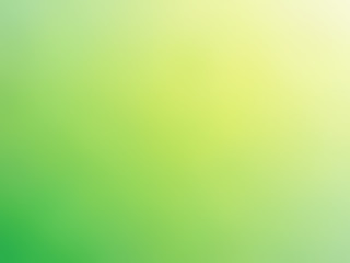 Abstract gradient green yellow colored blurred background