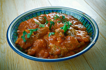 Spicy Bengali Mutton Curry