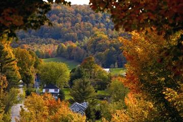 Rural Town, Quebec, Canada