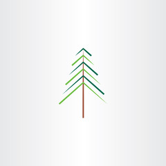 tree christmas vector illustration symbol
