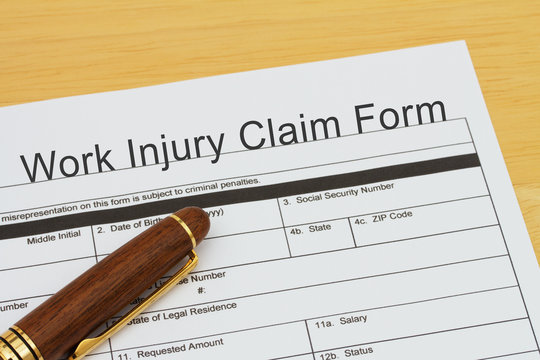 Filing a Work Injury Claim Form