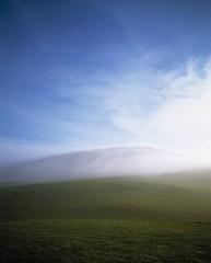 Misty Landscape; Ireland