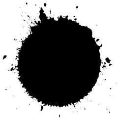 Ink blot splatter