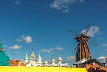 The windmill in Izmailovo Kremlin, Moscow