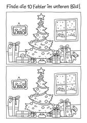 Fehlerbild Weihnachten