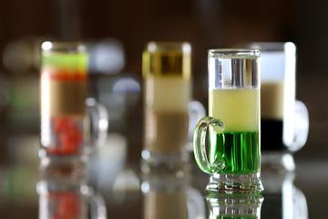 alcohol shots cocktails