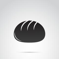 Type of bread vector icon.