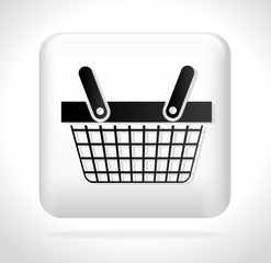 button basket buying cyber monday vector illustration eps 10