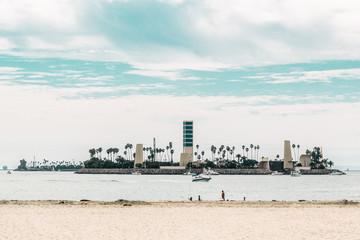 Island at Long Beach, Los Angeles