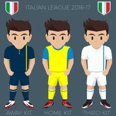 Verona Soccer Club Kits 2016/17 Serie A