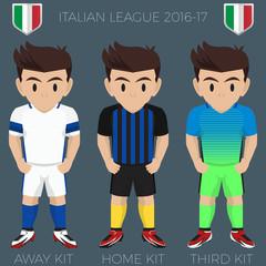Milan Soccer Club Kits 2016/17 Serie A
