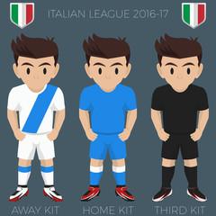 Naples Soccer Club Kits 2016/17 Serie A